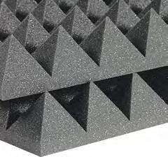 FLEXAKUSTIK мягкие плиты из ППУ акустические пирамидки или волна5